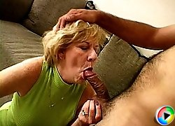 Guys banging lusty old hooker