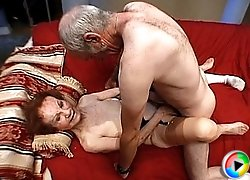 Super old gran getting fucked